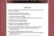The American Economic Review – Vol. 106 – n° 9 - September 2016
