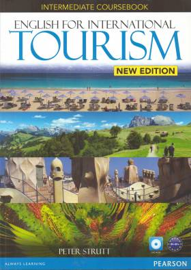 English for international tourism : intermediate coursebook / Strutt, Peter - Compra
