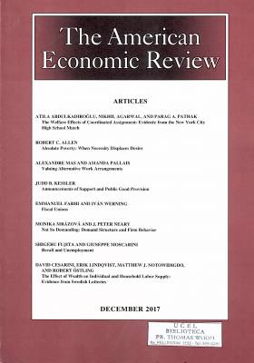 The American Economic Review – December 2017 – Vol. 107 – Nº12