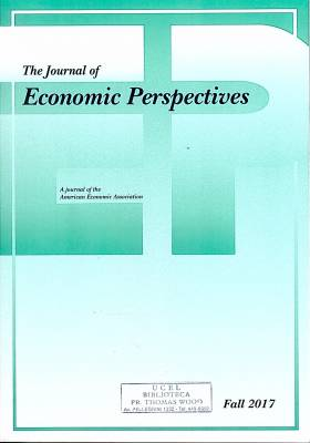 The journal of Economic Perspectives – Año 31 - Fall 2017 – Nº 4