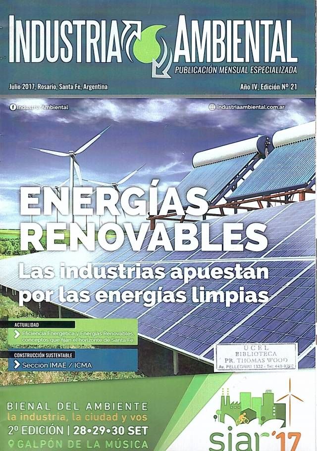 Industria Ambiental – Año  IV – Ed. N°21 – Julio 2017