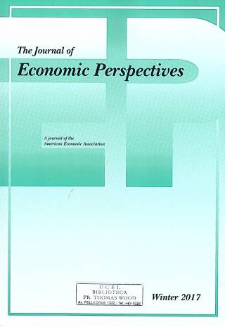 The Journal of Economic Perspectives – Vol. 31 – N° 1 – Winter 2017