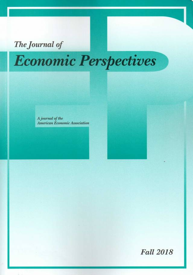 The Journal of Economic Perspectives – Volume 32 – Nº 4 – Fall 2018